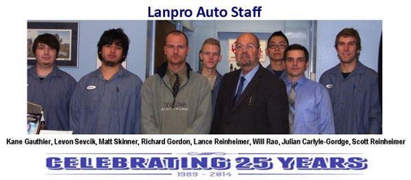 Lanpro Auto Care Staff