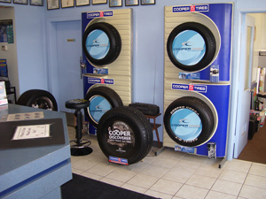 Lanpro Auto Care Centre Ltd. New Tires Display | 1870 Ellice Ave | Winnipeg, Manitoba | 204-783-5802